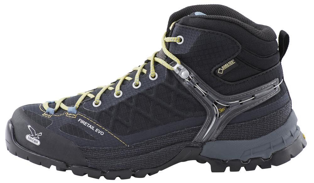 Salewa Firetail EVO Mid GTX Chaussures noir